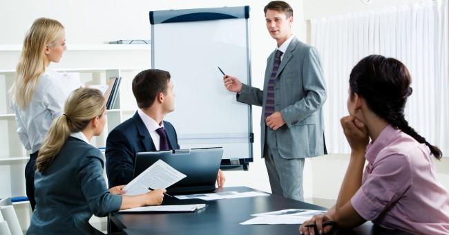 Presentation people